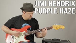 Jimi Hendrix - Purple Haze - Guitar Lesson - How to Play On Guitar - Tutorial