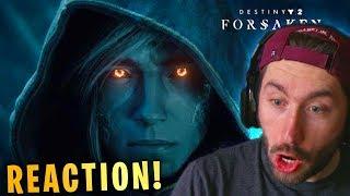 Destiny 2 Forsaken Launch Trailer Reaction & Breakdown!