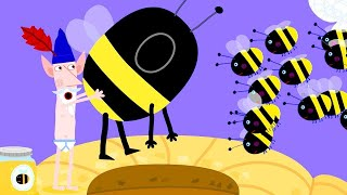 Ben and Holly's Little Kingdom | Wise Old Elf Becomes Honey Bees | Kids Videos