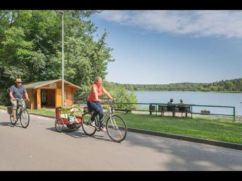 Radfahren in Brandenburg entlang am Wasser