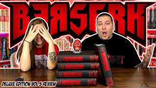 BERSERK Deluxe Edition Vol 5 REVIEW | Manga | Dark Horse Comics