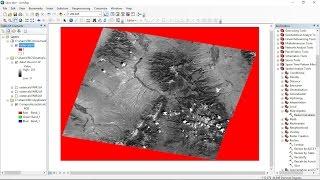 Destripe Gap Fill Landsat 7 ETM SLC Error in QGIS - hmong video