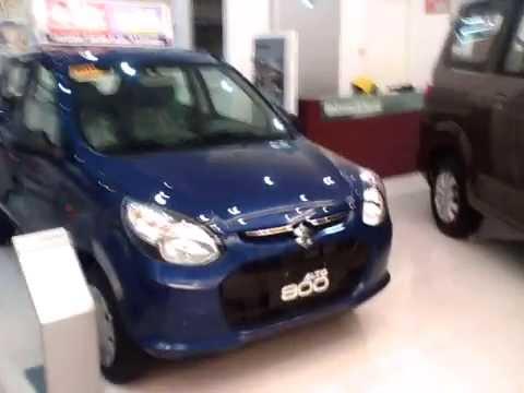 Suzuki Alto 800 Deluxe Review - Color Blue