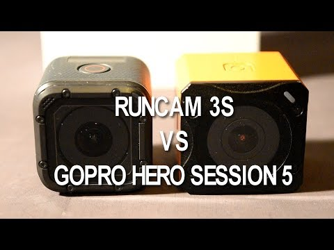 Runcam 3S vs Gopro Hero Session - Test Review confronto ITA
