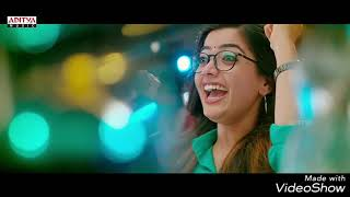 Video : Choosi Chudangane Full Video Song ( Edited Version) || Chalo Movie || Naga Shaurya, Rashmika