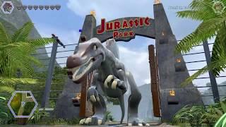 Lego Jurassic World FREE ROAM WITH THE SPINOSAURUS