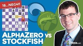 "Google Deepmind's AlphaZero Chess Engine Makes ""Inhuman"" Knight Sacrifice"