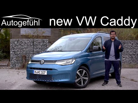 all-new VW Caddy FULL REVIEW driving the 2021 Volkswagen Caddy Move SWB - Autogefühl