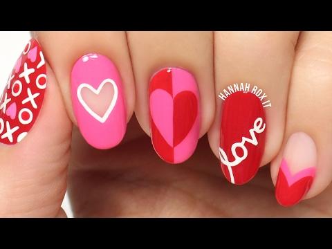 5 Cute Valentine's Day Nail Art Ideas!