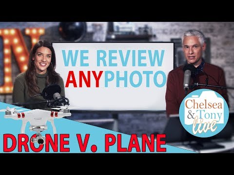 Drone Hits Plane, Chit Chat! We Review ANY Photo (TC LIVE)