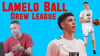 The Professor Reacts to LaMelo Ball Drew League Footage