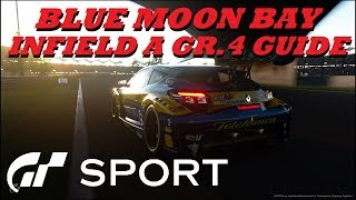 GT Sport Blue Moon Bay Infield A GR.4 Top 10 Stars Track Guide/Tutorial
