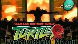 Обзор Черепашек Ниндзя 2003 года (1 сезон)