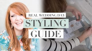 How To Shoot The Invitation Suite |  Behind The Scenes From A Real Wedding