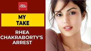 Rajdeep My Take: Rhea Chakraborty Arrest On Charges Of Procuring Drugs | Sushant Death Case  IMAGES, GIF, ANIMATED GIF, WALLPAPER, STICKER FOR WHATSAPP & FACEBOOK