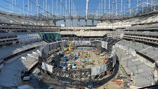 SoFi Stadium Is 85% COMPLETE! | Timelapse (2016-2020