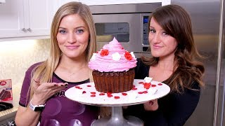 Making A Giant Cupcake!