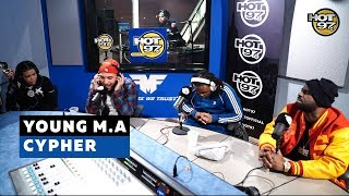 YOUNG M.A CYPHER   FUNK FLEX   #Freestyle138