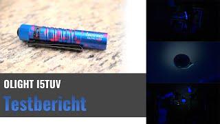 Onlight UV-Taschenlampe I5TUV im Test - UV-Licht, was leuchtet da so alles?
