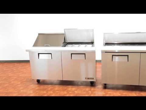 Mesas Para la Preparación Sandwiches y Ensaladas1 wmv