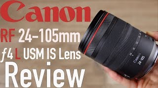 Canon RF 24-105mm f/4 L IS Lens Review: BEST Standard Zoom Lens?