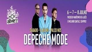 Depeche Mode - Global Spirit Tour - Lisbon 08.07.17 (REMASTERED AUDIO by Kevin Jee)