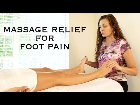 Video Relaxing Foot Massage Techniques for Pain Relief, Aching Feet, How to Massage Therapy