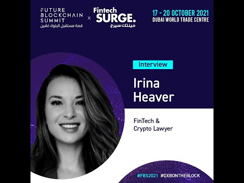 Interview with Fintech & Crypto lawyer Irina Heaver