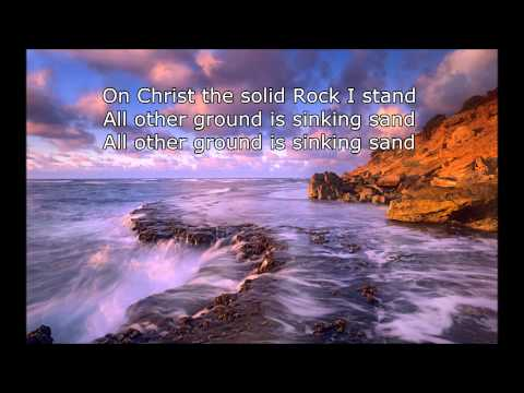 Download On Christ The Solid Rock I Stand With Lyrics 2014 HD Mp4 3GP Video and MP3