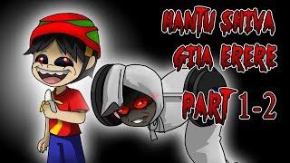 HANTU SHIVA GILA ERERE PART 1 & 2 - KARTUN HANTU LUCU - MAMAT THE GAPLEK STORY