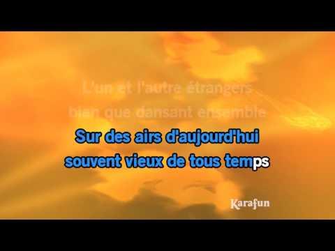 , title : 'Karaoké Les plaisirs démodés (Dansons joue contre joue) - Charles Aznavour *'