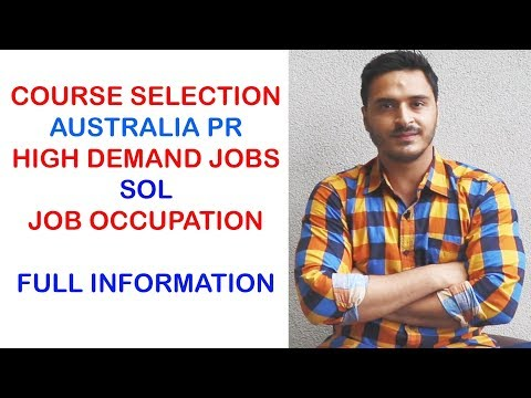 WHICH COURSE HAS HIGH SALARY AND EASILY PR IN AUSTRALIA II FULL EXPLANATION
