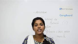 Assertive or Imperative sentence in Tamil     Spoken English Tutorial For Beginners
