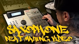 Old School Boom Bap Classic Jazz Soul Hip Hop Sample MPC Saxophone Beat Making Video