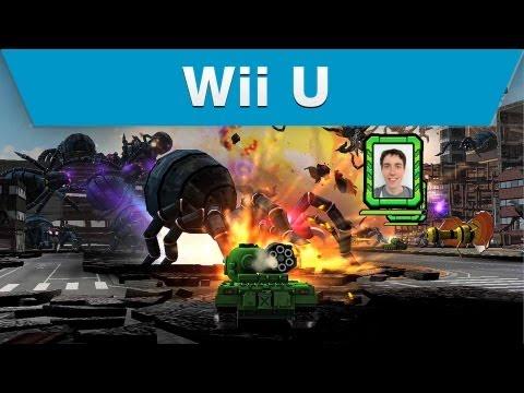 Видео № 1 из игры TANK! TANK! TANK! (Б/У) [Wii U]