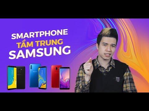 Smartphone Samsung tầm trung tốt nhất