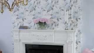 Interior Design — How To Decorate With Wallpaper For Dramatic Makeovers