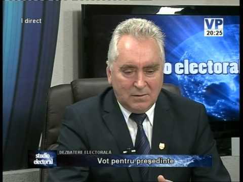 Emisiunea Studio electoral – Mircea Roșca și Ion Luchian – 14 noiembrie 2014