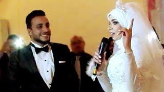 شاهد عروس تغني لزوجها ليلة زفافها 2018 سمعني نبضك سلمي