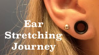 My Ear Stretching Journey: 14g To 2g!
