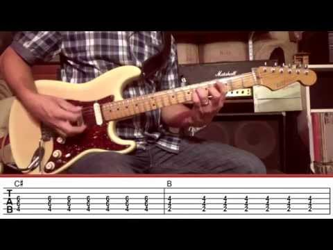 Watch Day Tripper Guitar Lesson with TAB (The Beatles) Rock Like The Pros on YouTube