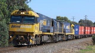 preview picture of video 'AM3 Patricks at Ararat - Australian Trains, Victoria'