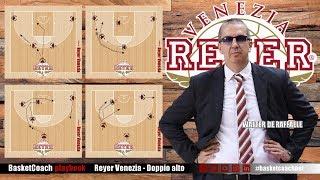 <p>Giochi di attacco:&nbsp;Reyer Venezia - Doppio Alto</p>