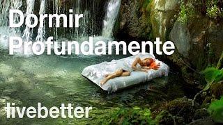 Música para dormir muy relajante con sonidos de agua