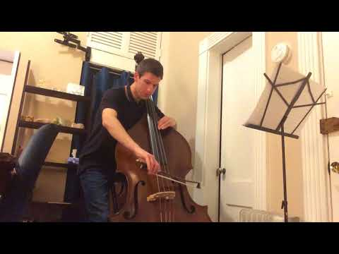 Mahler Symphony No.1 3rd Movement (double bass solo) Take #1