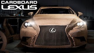 Lexus Made a Driveable Car out of Cardboard