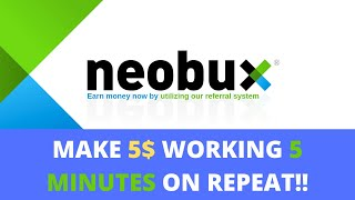 Neobux : Earn Passive Income daily ( Full Tutorial 2020 )