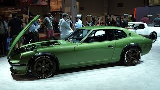 Gas Monkey Datsun 1975 280Z 2+2 Featured At Nitto Tire Booth - SEMA Car Show 2017