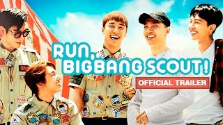 Run BIGBANG Scout  Official Trailer  Watch    유튜브레드오리지널 달려라빅뱅단 YGRedOriginals Ru