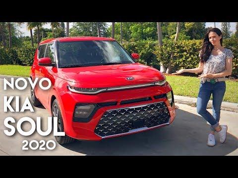 Conheça o NOVO Kia SOUL 2020: a terceira geração do CROSSOVER da marca sul-coreana